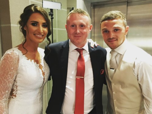 Preston Wedding Magician with Kieran Trippier