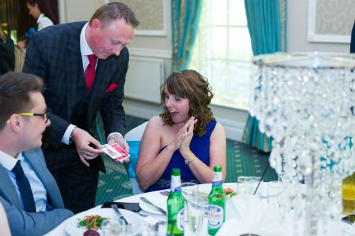 Shaw Hill Golf Club Wedding Magician