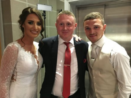 Kieran Trippier Wedding Magician
